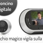 323974 - spioncino digitale
